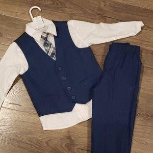Matching Sets - Boys Blue Suit